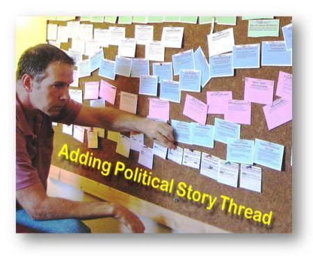 Adding the politic story thread