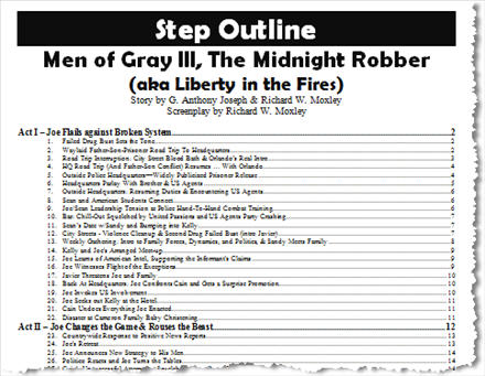 Step Outline TOC